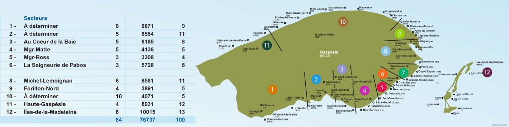 carte des 14 secteurs